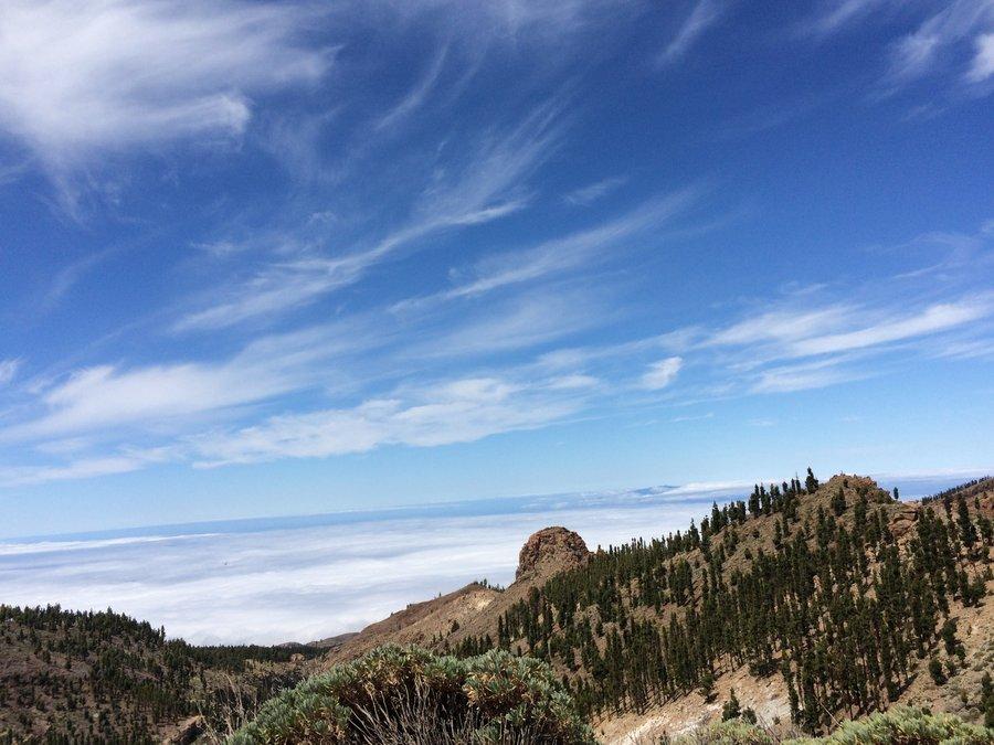 Teren Parku Narodowego El Teide Teneryfa