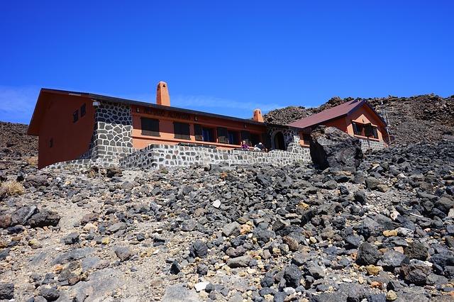 Wulkan El Teide Teneryfa schronisko