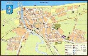 zamieszkali.pl Mapa Ustka - połączenie plaż zachodniej i wschodniej