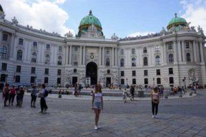 Michaelerplatz Wiedeń