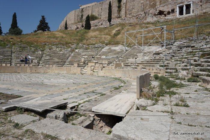 Akropol Ateny: teatr Dionizosa