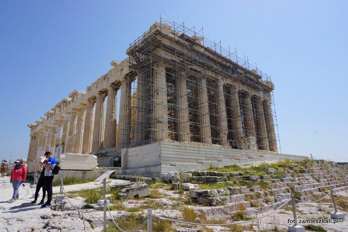 Akropol Ateny Partenon