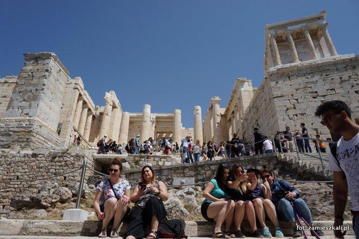 Akropol Ateny Grecja