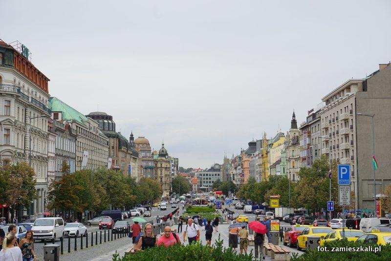 Czeska Praga, Plac Wacława