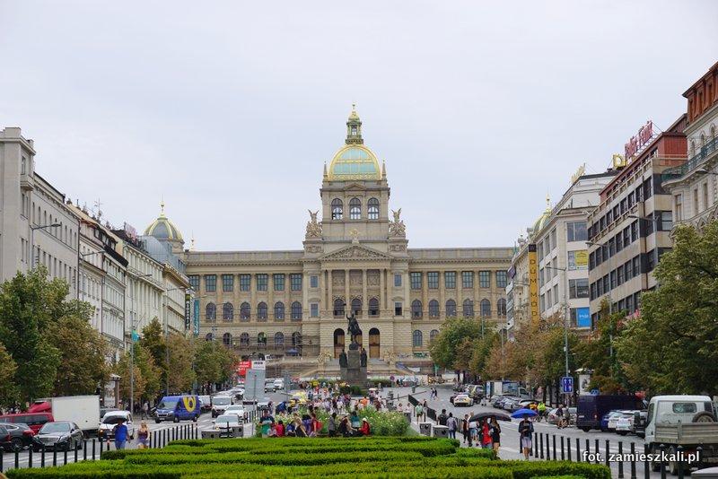 Czeska Praga, Plac Wacława, Muzeum Narodowe