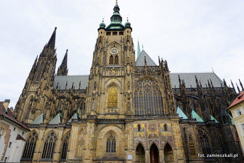 Czeska Praga, Hradczany Katedra Wita