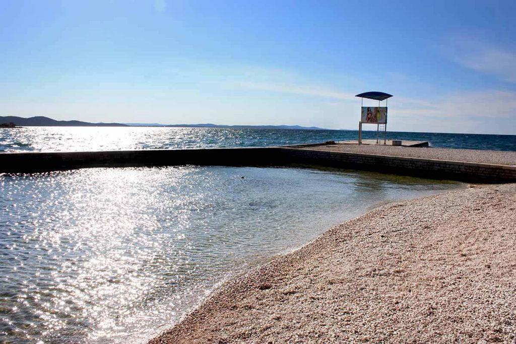 Plaża Borik Zadar. Plaże w Zadar.