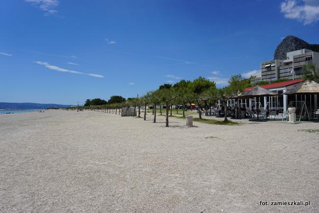 Omiś Chorwacja Plaża