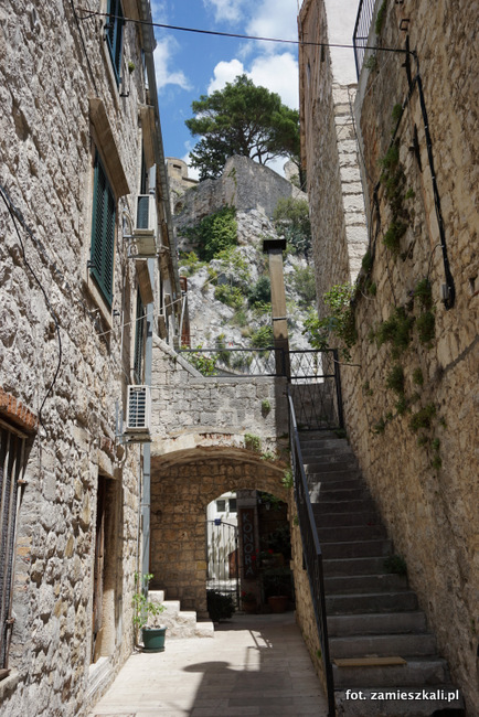 Omiś Chorwacja Stare Miasto