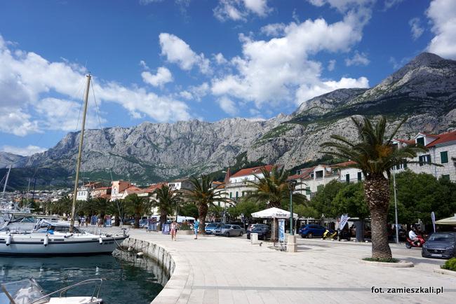 Makarska Chorwacja Promenada