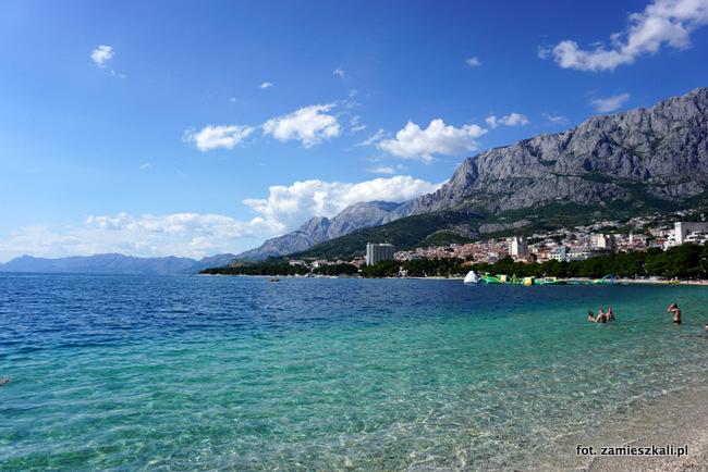 Makarska Chorwacja Plaża