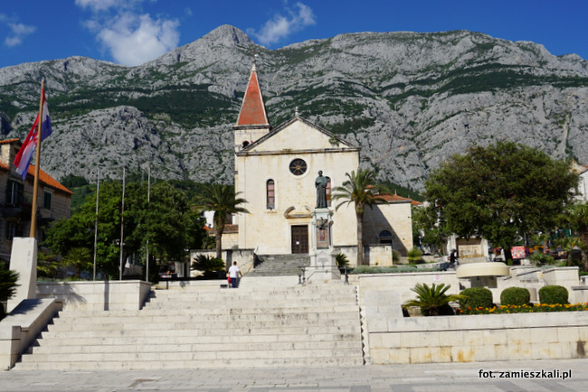 Makarska Chorwacja Stare Miasto