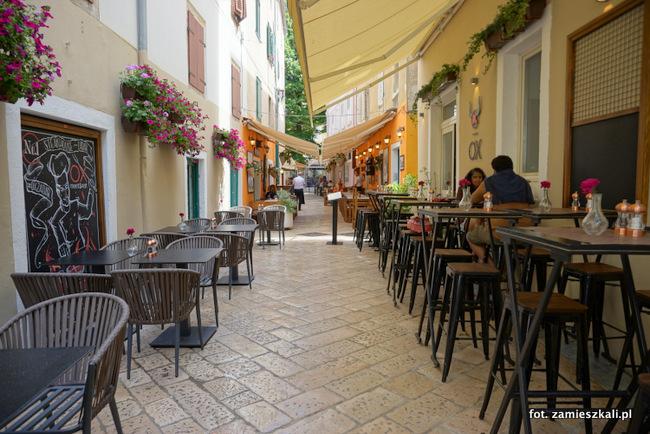 Ceny w restauracjach Zadar
