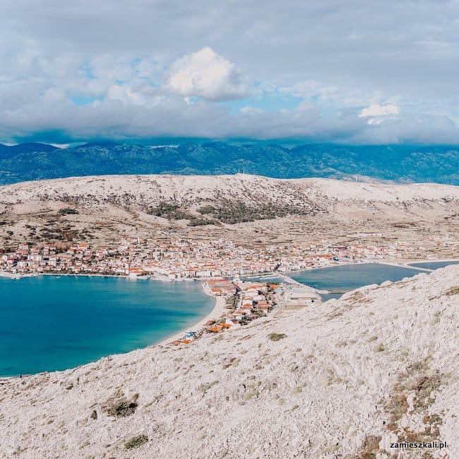 Wyspa Pag Chorwacja atrakcje