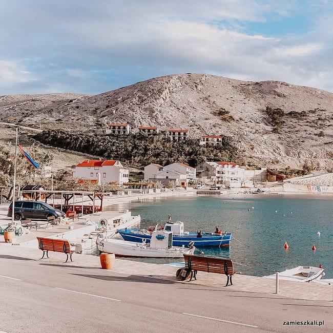 Wyspa Pag Chorwacja Metajna