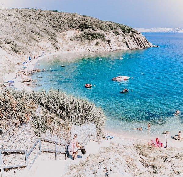 Chorwacja Wyspa Pag plaże: najlepsze plaże na Pag!