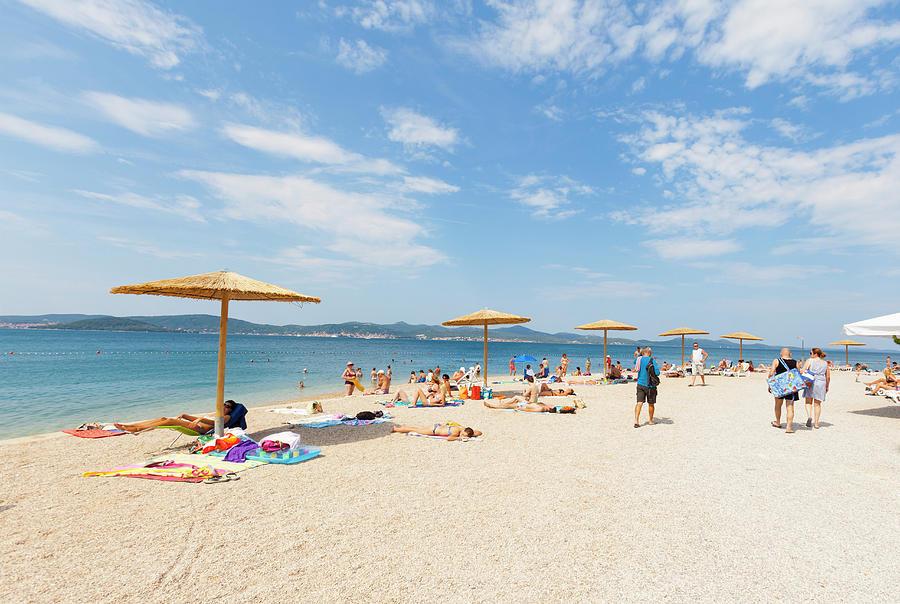 Plaża Kolovare Zadar. Plaże w Zadar.