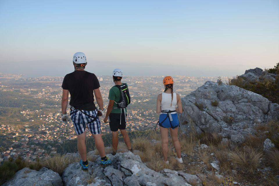 Omiś Chorwacja atrakcje - zipline
