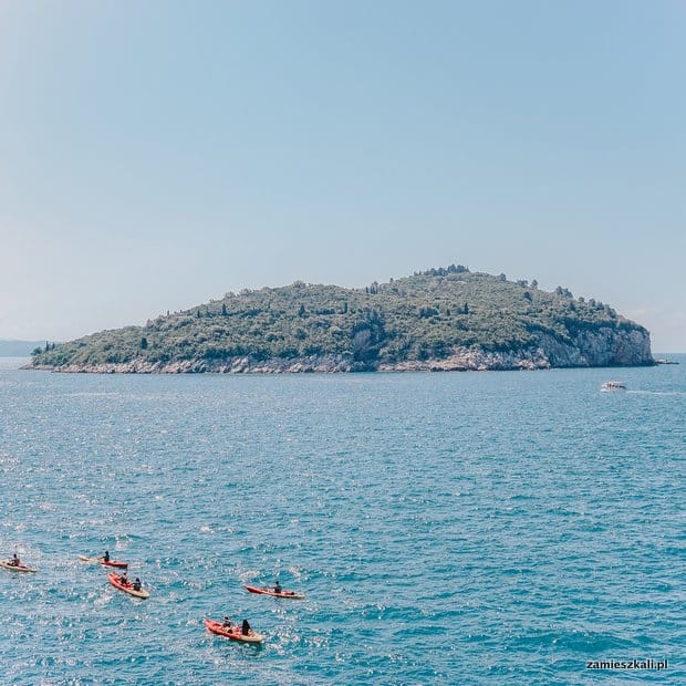 Dubrownik wyspa Lokrum
