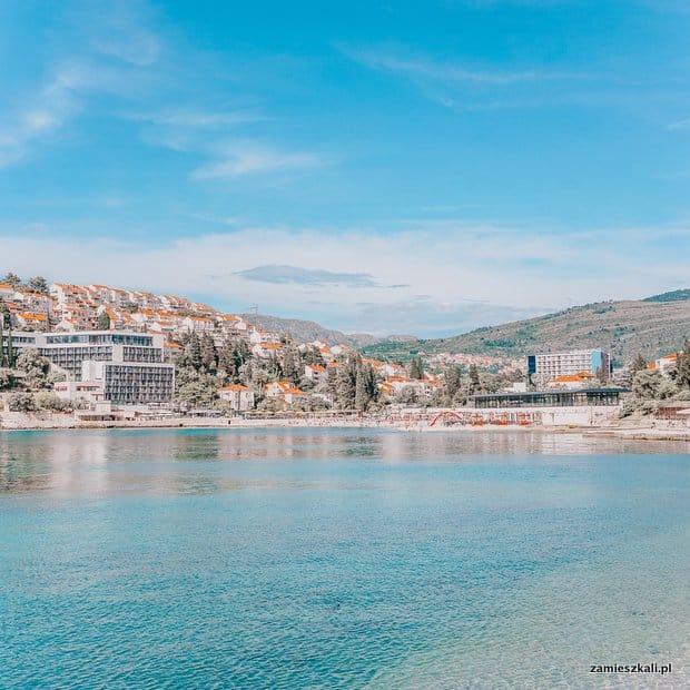 Dubrownik Chorwacja plaże