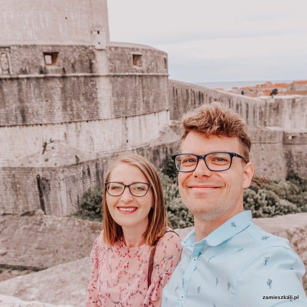 Dubrownik Chorwacja Mury Miasta Baszta Minceta