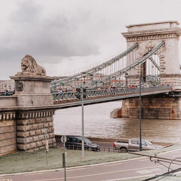 Budapeszt atrakcje. Most łańcuchowy Budapeszt.