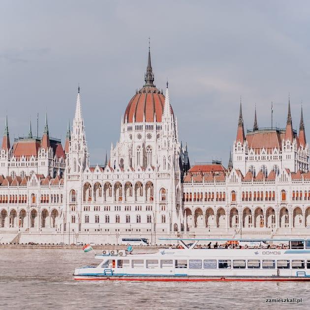 Budapeszt atrakcje. Parlament Budapeszt, Węgry