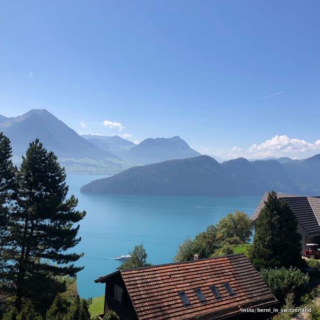 Szwajcaria jezioro 4 kantonów