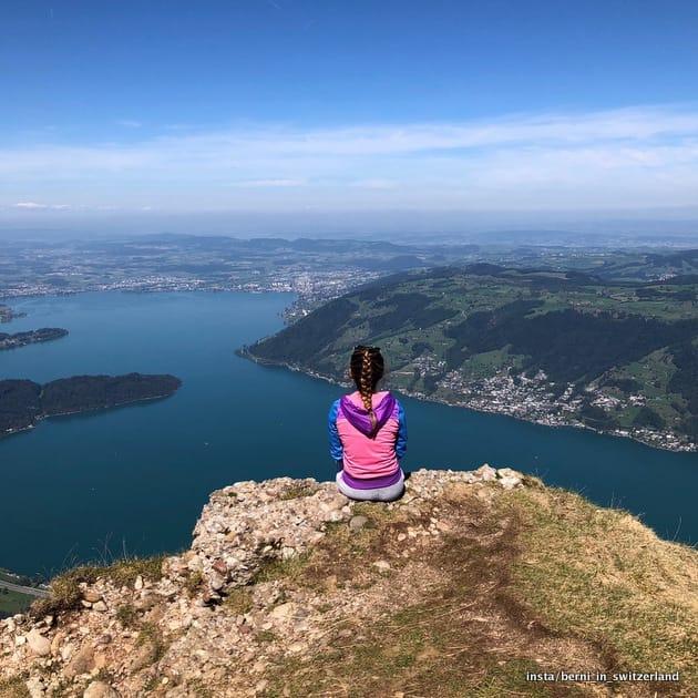 Szwajcaria atrakcje: widok z gór Rigi