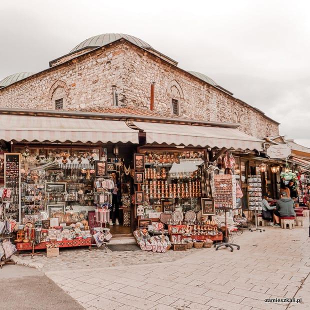 Zwiedzanie Sarajewa: Stare Miasto Sarajewo.