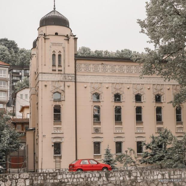 Zwiedzanie Sarajewa: Synagoga w Sarajewie.