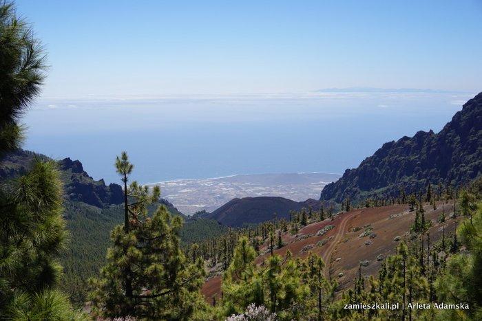 Wulkan El Teide Teneryfa pónocna